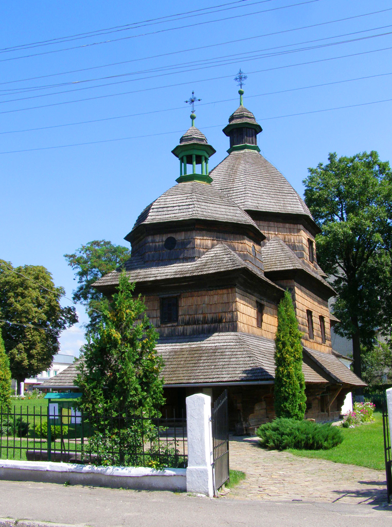 Церковь Святой Троицы, Жолква, Львовская область