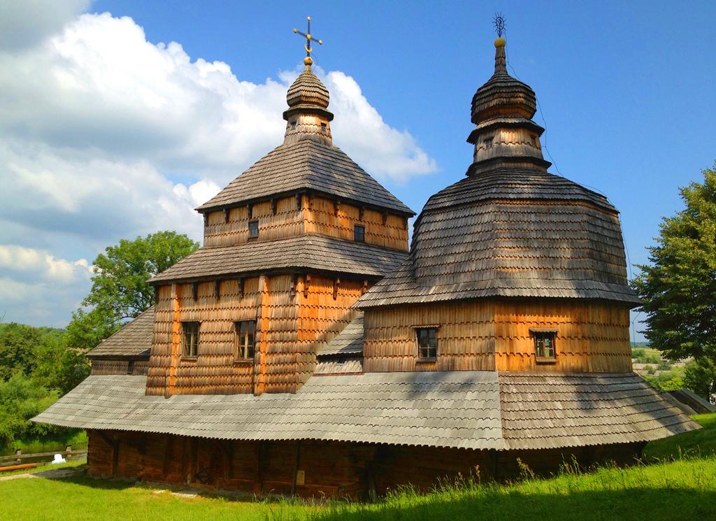 Церковь сошествия Святого Духа, с. Потелич, Львовская область