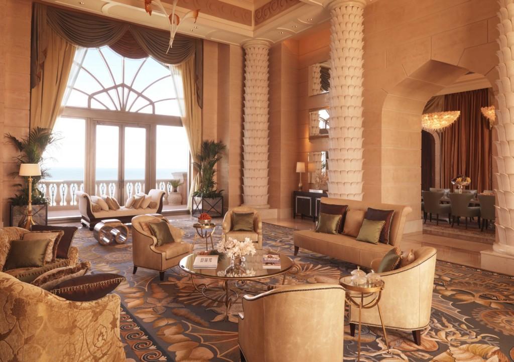 Royal Bridge Suite в Atlantis The Palm