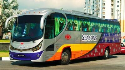 Рейсовый VIP автобус в Тайланде
