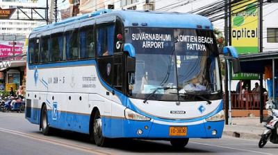 Рейсовый автобус 1 класса в Тайланде