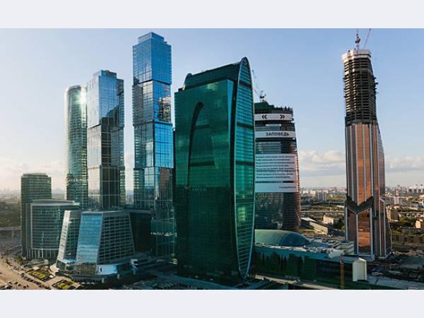 Башня Империя в Москва Сити