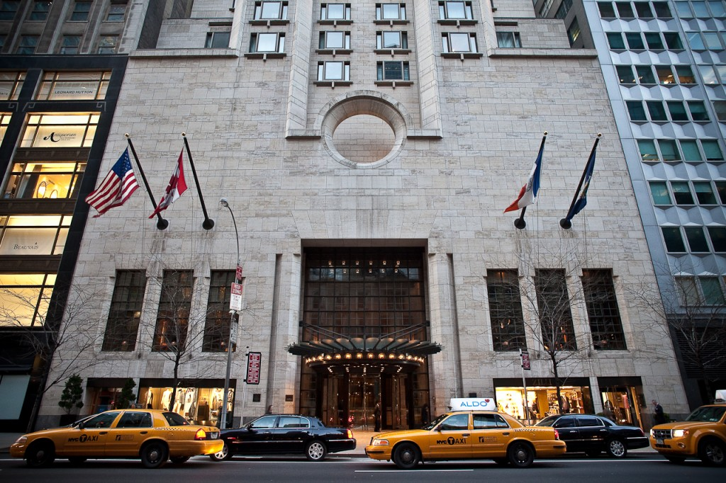 Ty Warner Penthouse в Four Seasons Hotel New York