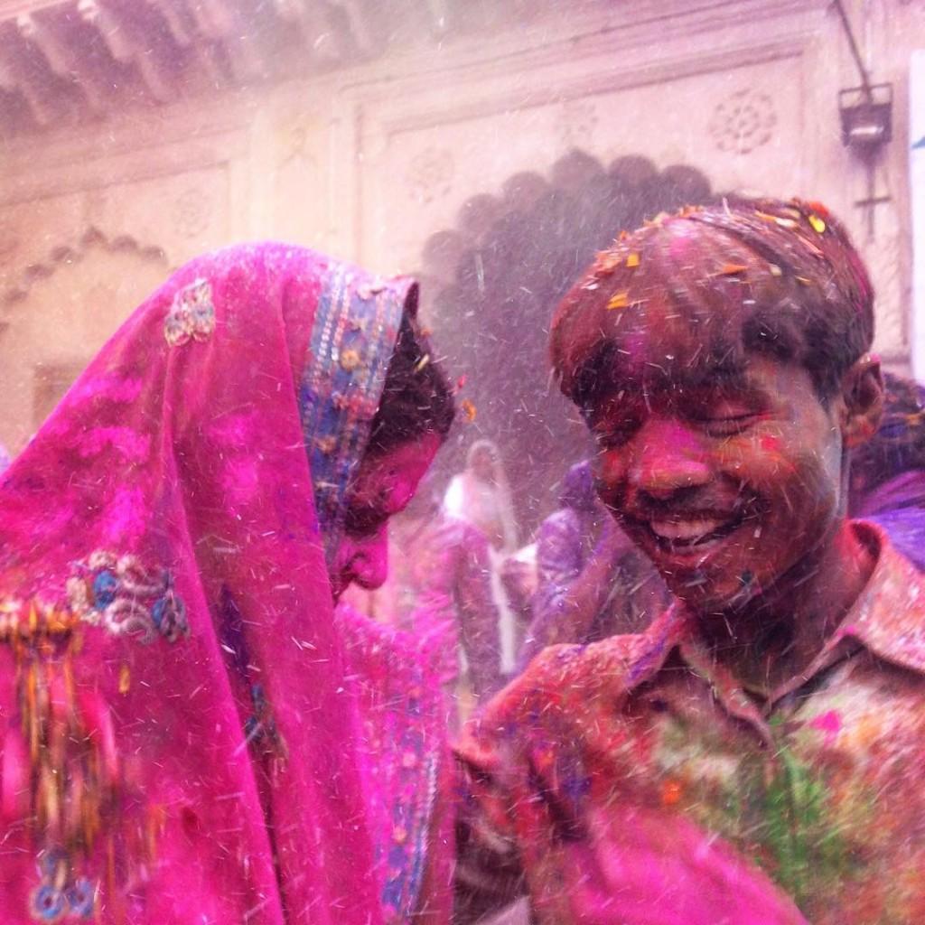 Веселье на Холи, Индия
