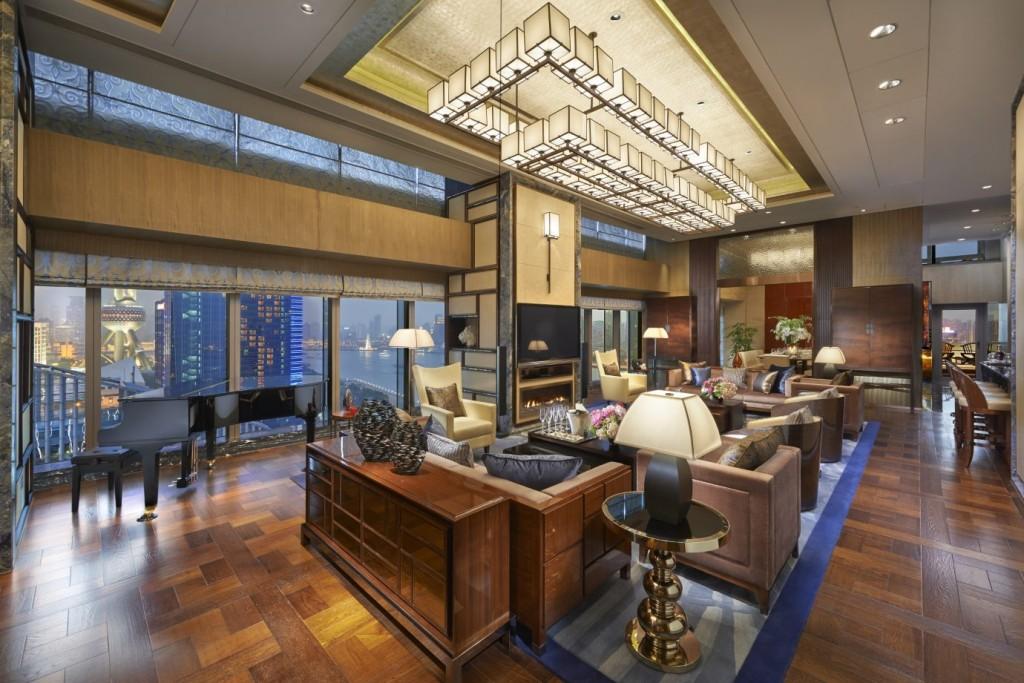 Presidential Suite в Mandarin Oriental Pudong