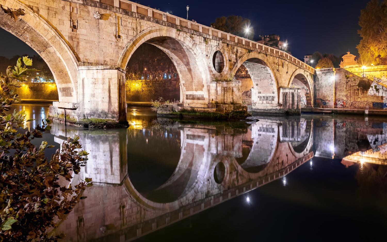 Мост Сикста ведущий в Траставере