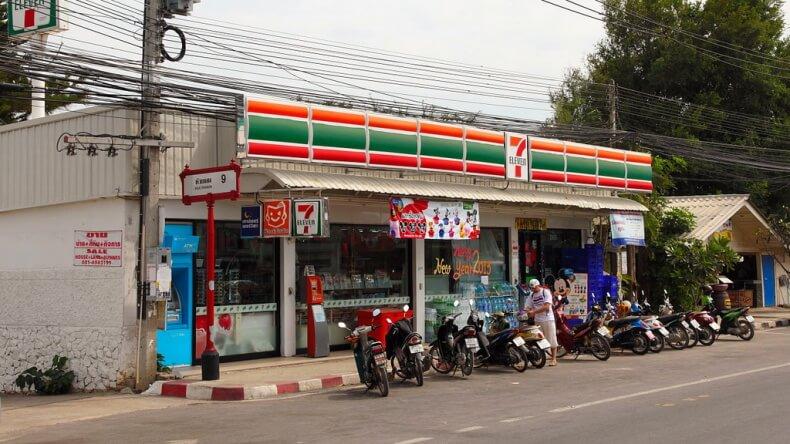Магазин 7-Eleven в Хуа Хине