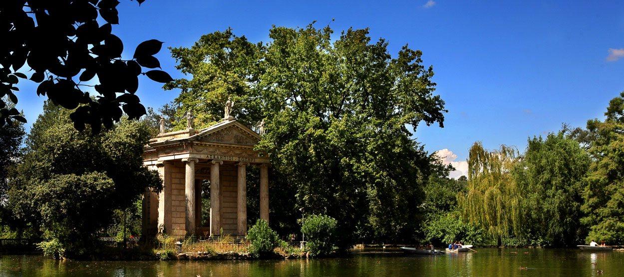 Парк при вилле Боргезе, Рим