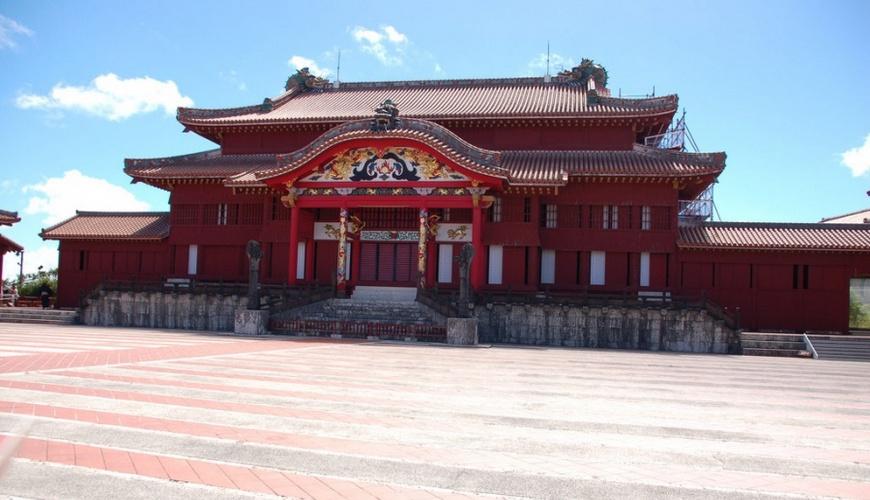Замок Сюри, Окинава, Япония