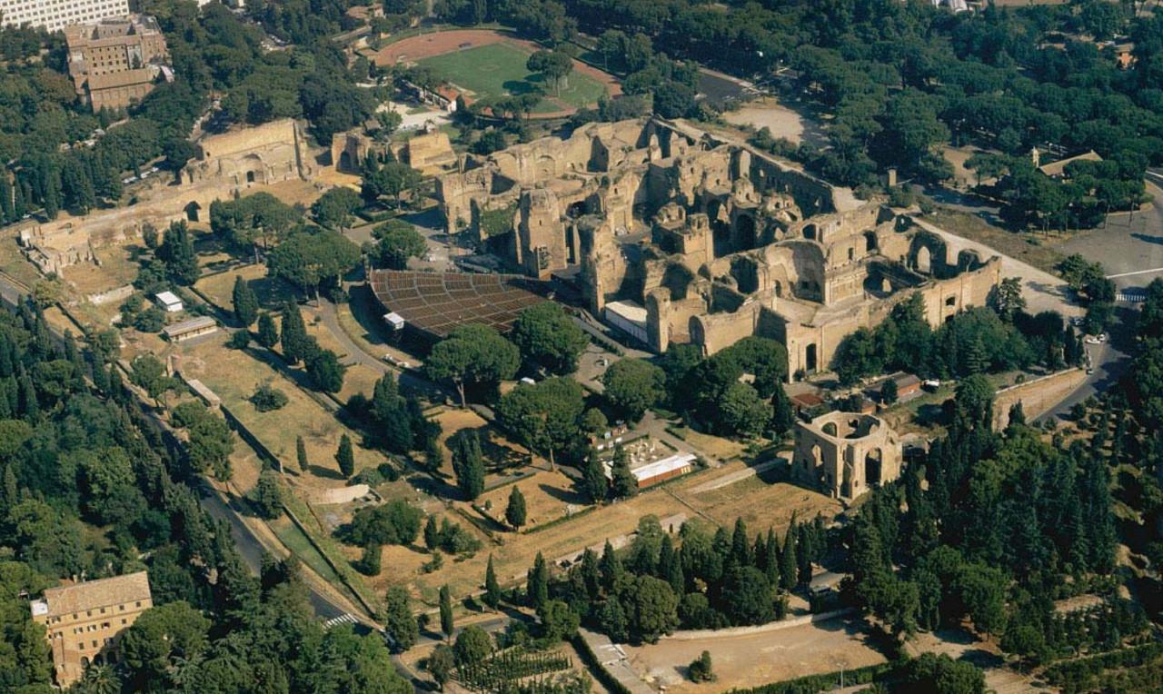 Термы Каракалла в Риме