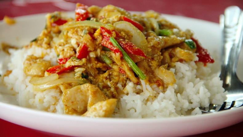 Блюда тайской кухни - Гай Пад Понгали (Gai Pad Pongali)