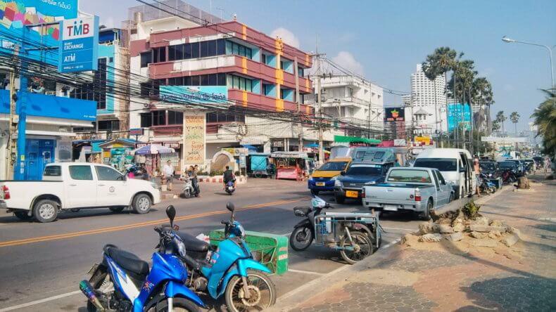 Район Джомтьен в Паттайе