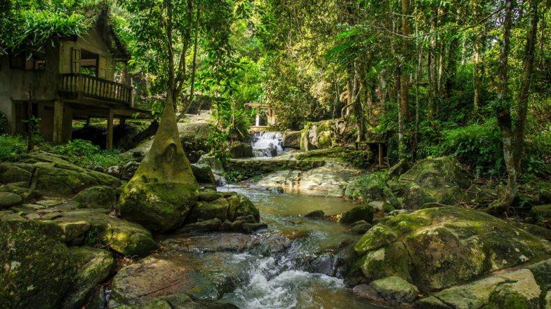 Водопад Tarmin на Самуи