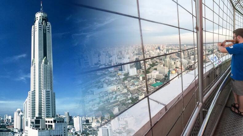 Смотровые площадки Бангкока - небоскреб Baiyoke Sky