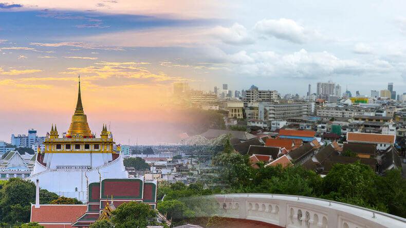 Смотровые площадки Бангкока - Golden Mount