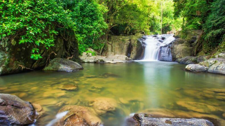 Водопад Pala-U в Хуа Хине