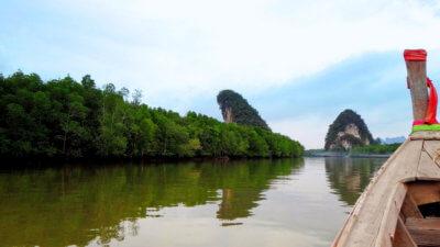 Скалы Khao Kanab Nam в Краби Тауне
