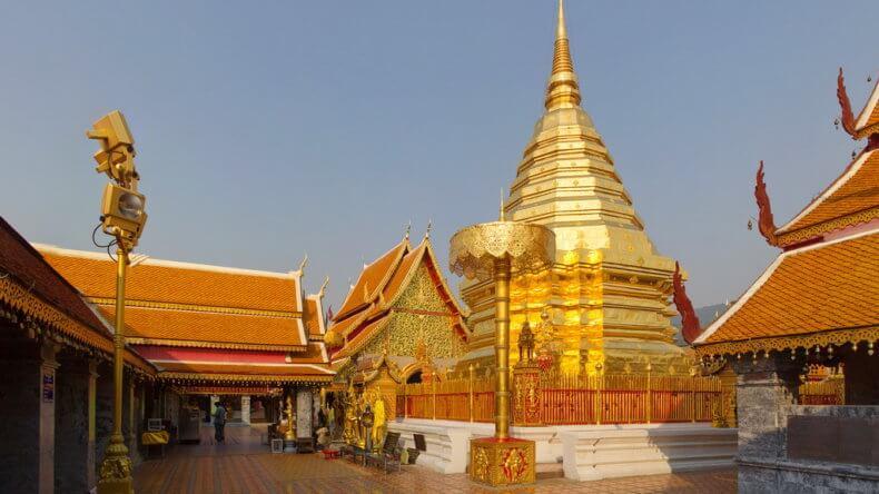 Храм Wat Phra That Doi Suthep в провинции Чианг Май
