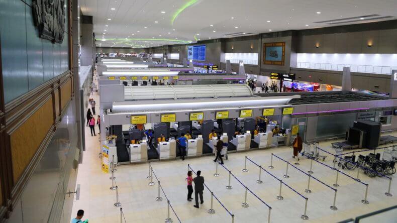 Аэропорт Дон Муанг в Бангкоке - 3 этаж