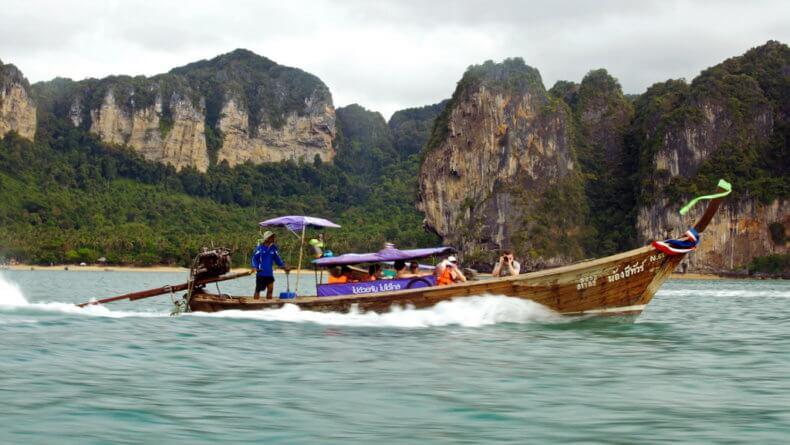 Аренда лонгтейла в Тайланде