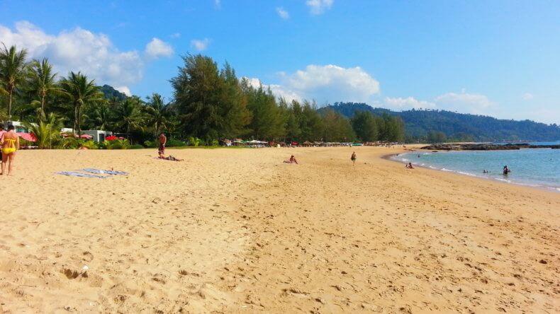 Пляж Нанг Тонг (Nang Thong Beach) в Као Лак