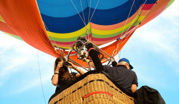 Полет на воздушном шаре — незабываемое приключение