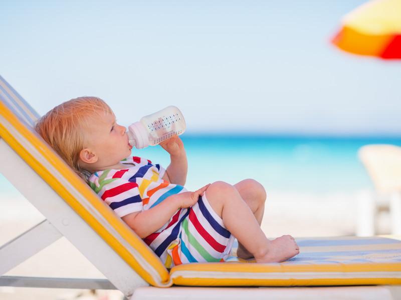 Отдых с маленькими и грудными детьми