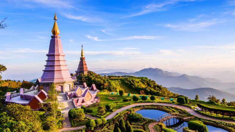 Развлечения в Тайланде - Национальный парк Дой Интханон