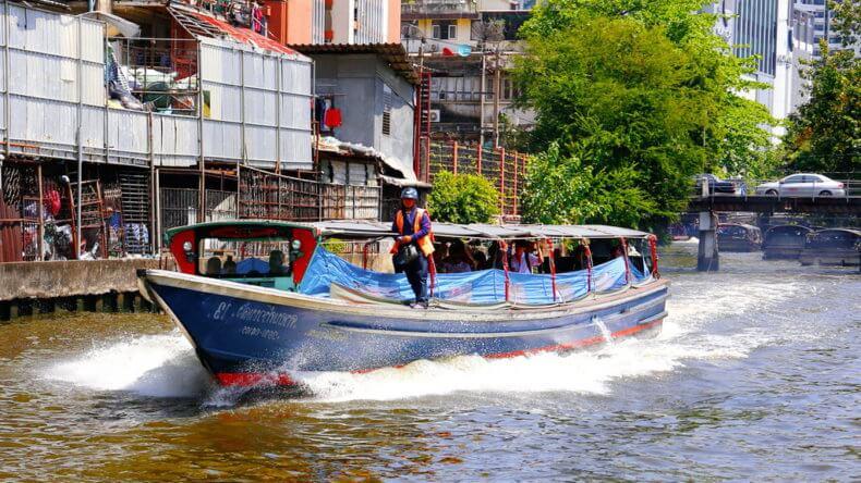 Развлечения в Тайланде - Прогулки по рекам и каналам Бангкока