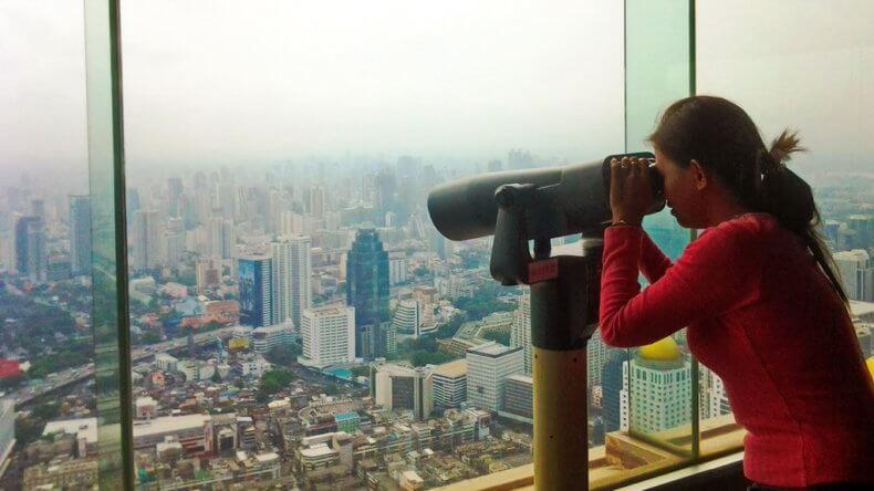 Смотровые площадки в небоскребе Байок Скай