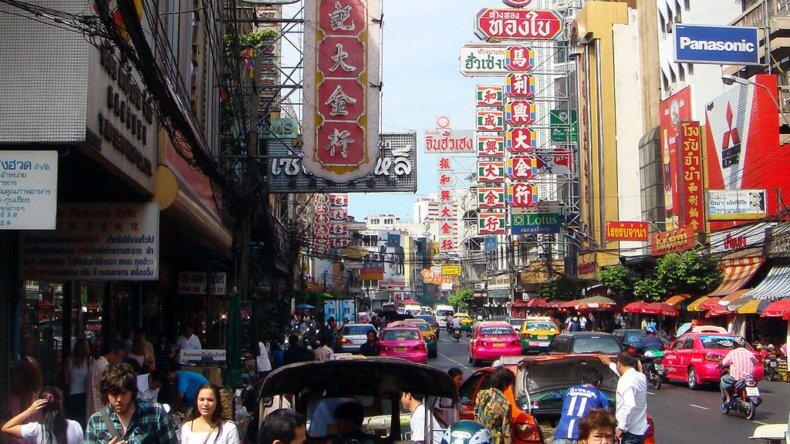Развлечения в Тайланде - Китайский квартал в Бангкоке