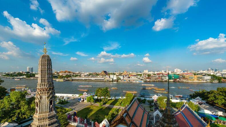 Район Ко Раттанакосин (Ko Rattanakosin) в Бангкоке