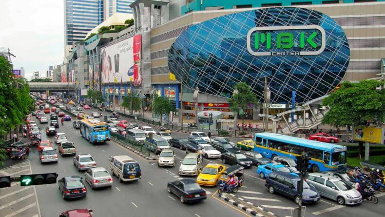 Район Сиам-Сквер (Siam Square) в Бангкоке