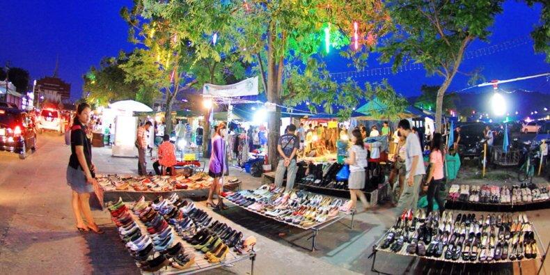 Рынок Weekend Market на Пхукете