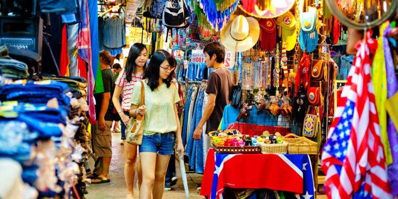 Рынок Chatuchak Market на Пхукете
