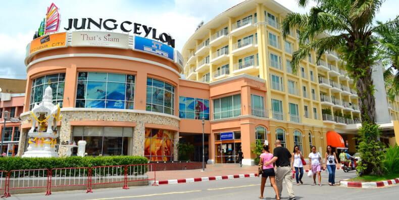 Шоппинг в торговом центре Jungceylon Phuket на Пхукете
