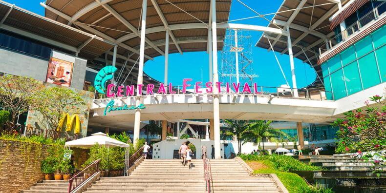 Торговый центр Phuket Central Festival на Пхукете
