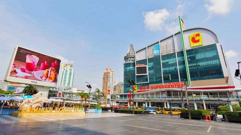 Торговый центр Big C Supercenter в Бангкоке