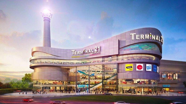 Торговый центр Terminal 21 в Бангкоке