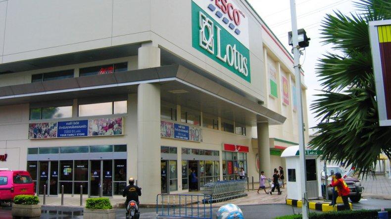Торговый центр Tesco Lotus в Бангкоке