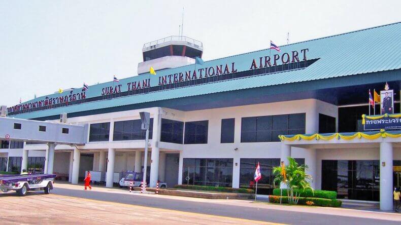 Аэропорт Сураттхани в Тайланде