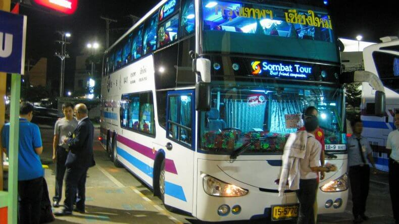 Как добраться из Бангкока в Чианг Май на автобусе