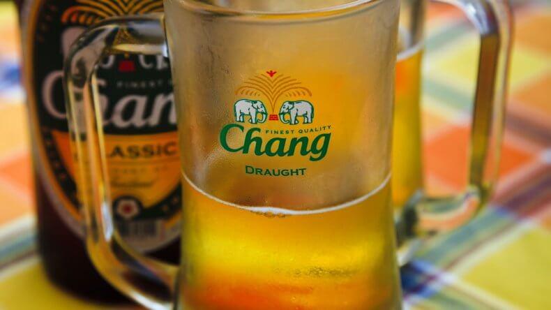 Пиво Chang в Тайланде