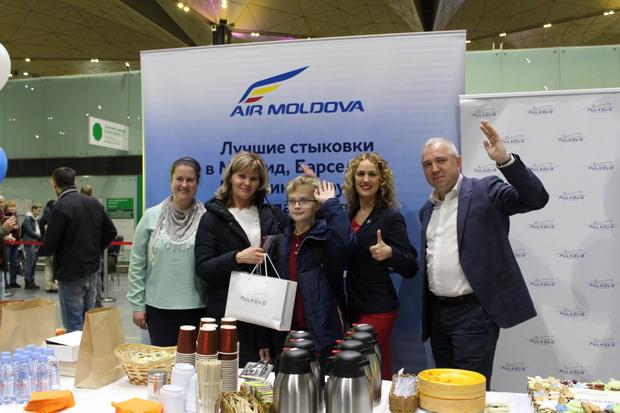 Пулково и Air Moldova празднуют десятилетие полетов