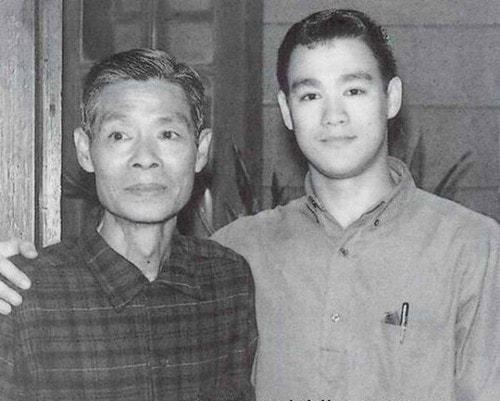 Брюс Ли с отцом