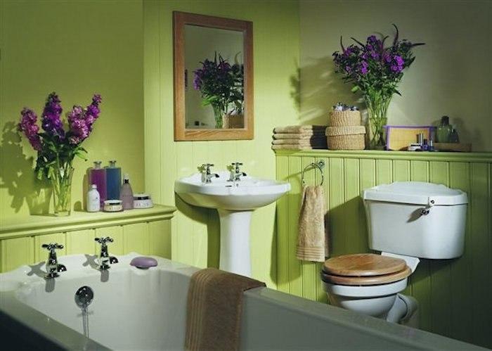 Цвет туалета по фен шуй фото