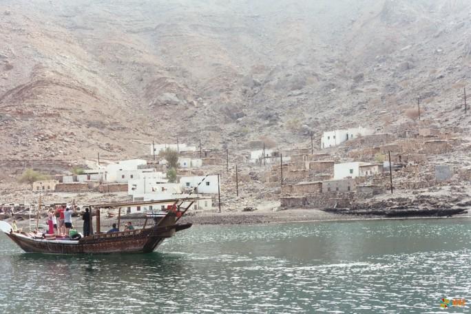 Фьорды Musandam в Омане