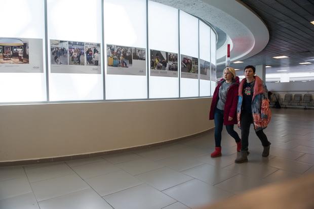 Пулково приглашает на фотовыставку к первому юбилею нового терминала