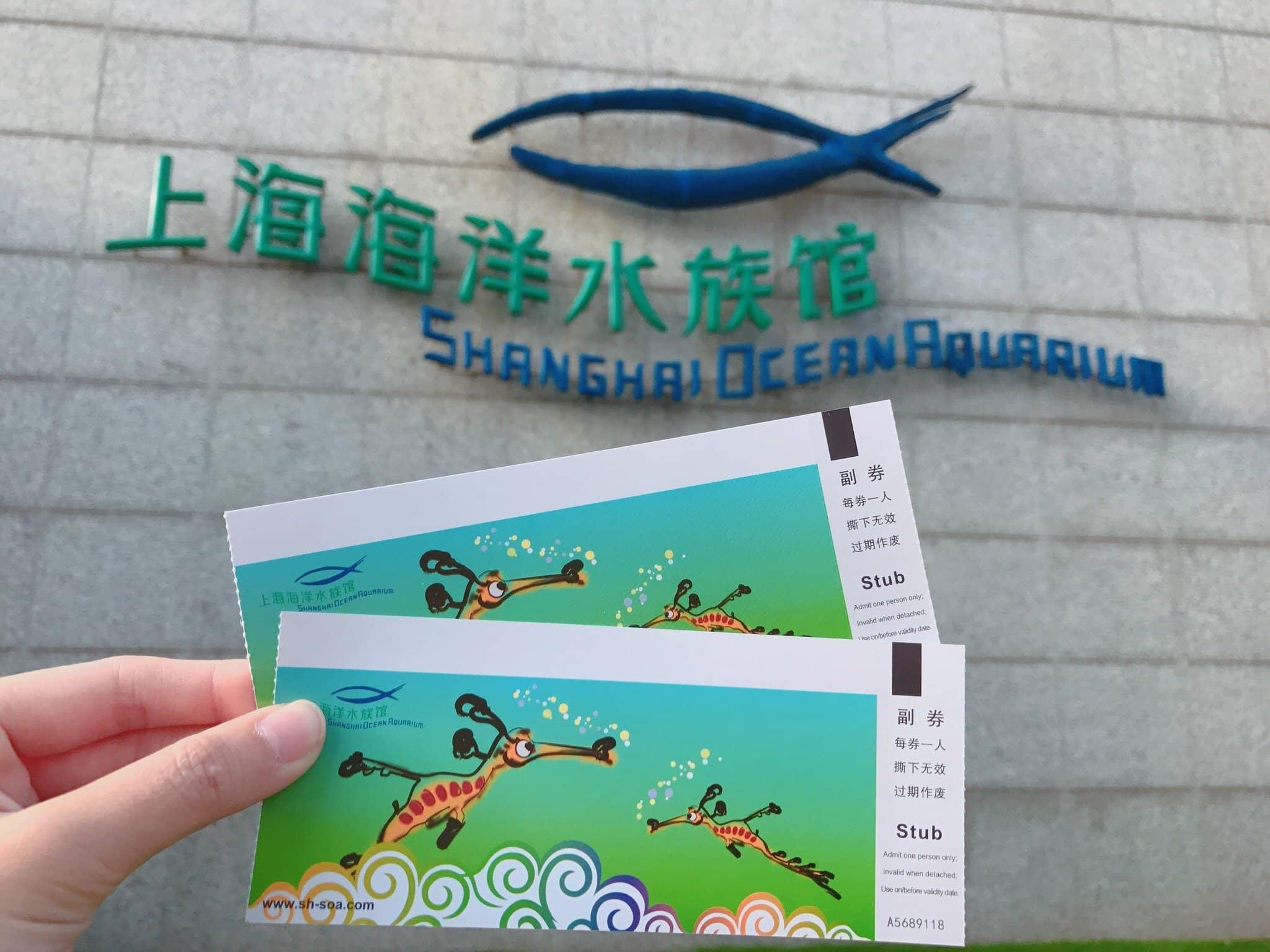 цена билета в шанхайский океанариум