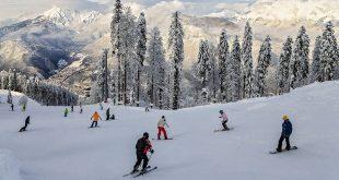 В горах Сочи открывается снежный «пляж»